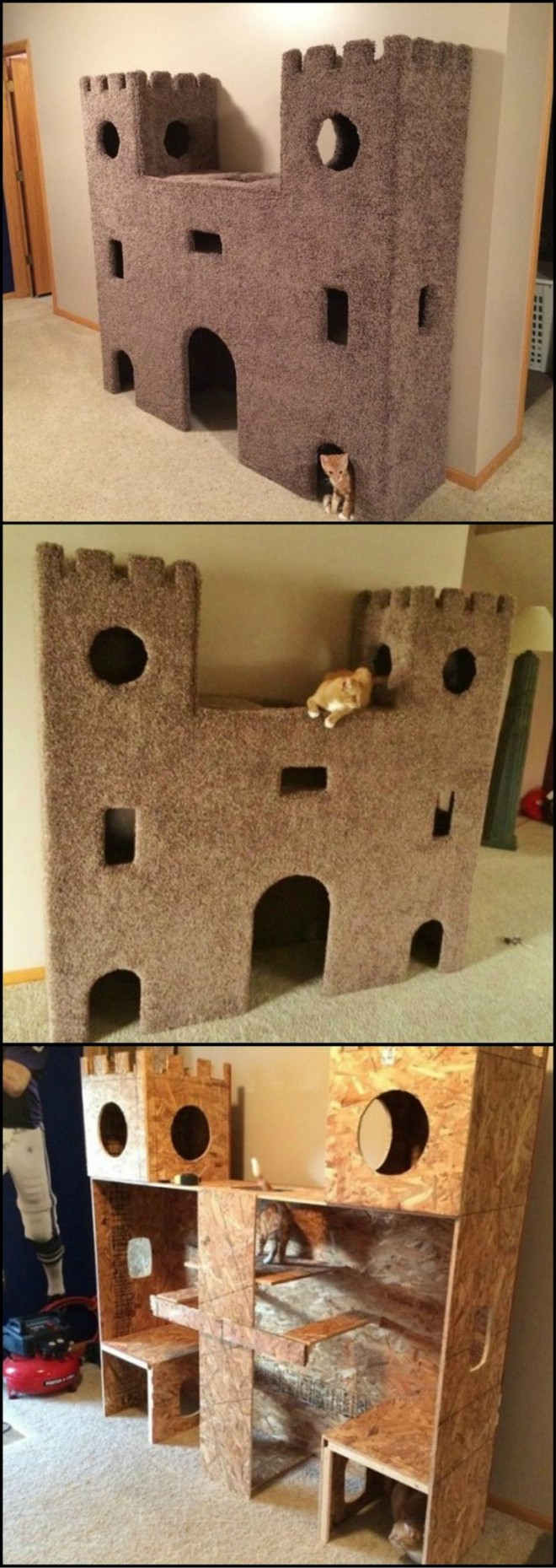 How To Build A Cat Castle How To Instructions