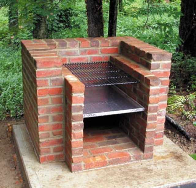 How To Build A Brick Barbecue 3