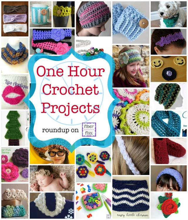One Hour Crochet Projects