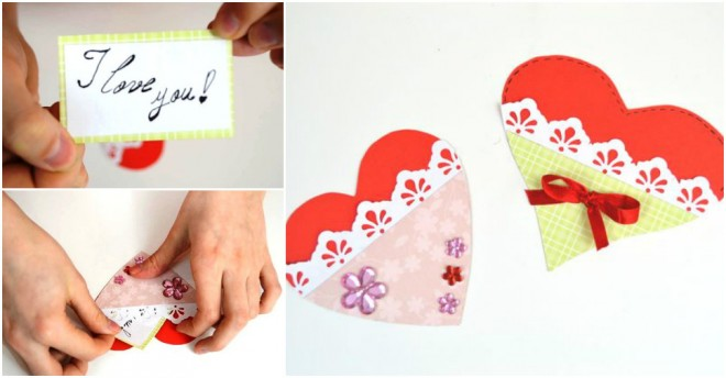 Paper Heart Gift Card