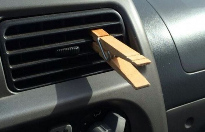 Clothpin Air Freshener