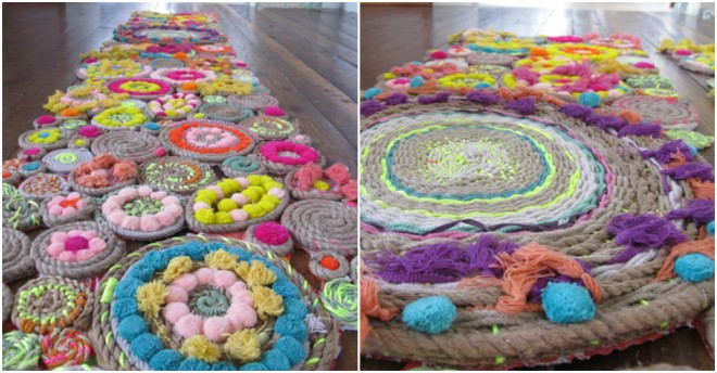 DIY Rope Rugs