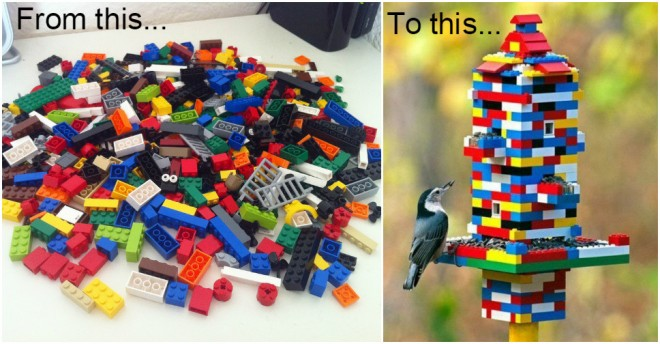 Lego Bird Feeder