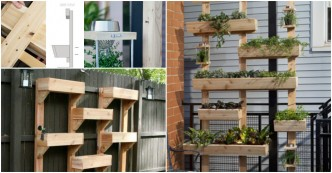 Step by step instructions on how to make everything part 70 - How to build a living wall ...