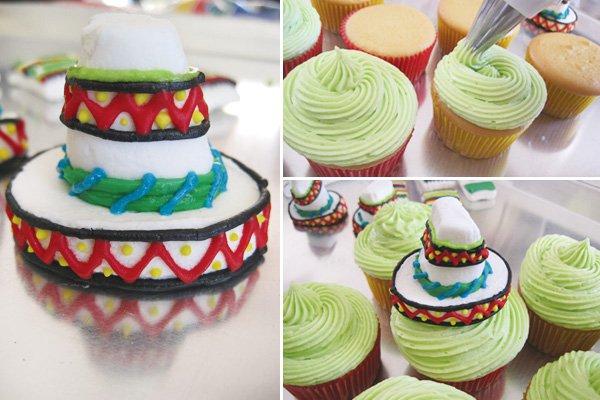 Marshmallow Sombreros Serapes 1