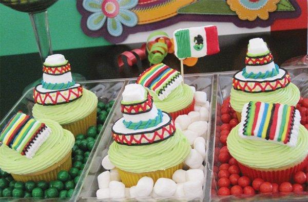 Marshmallow Sombreros Serapes