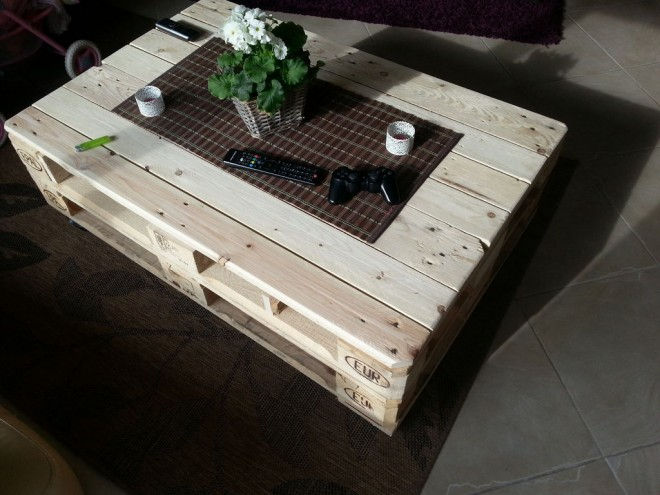 How To Make A Multifunctional Coffee Table With Pallets How To