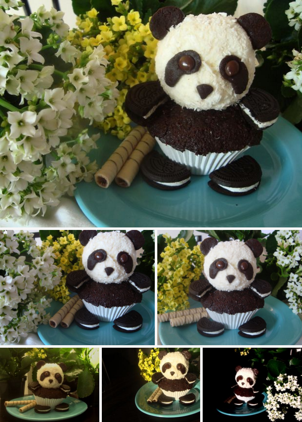 How To Make Cute Panda Cupcakes At Home How To Instructions