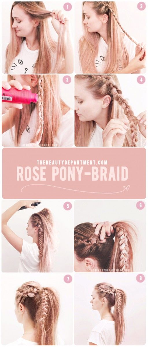 Rose Pony Tails