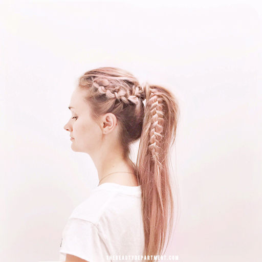 Rose Ponytail