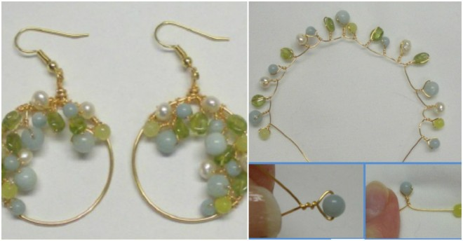 Spring Garland Earrings