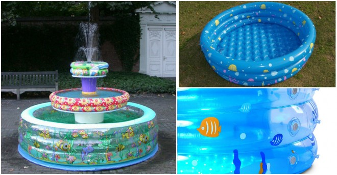 Baby Pool Fountain