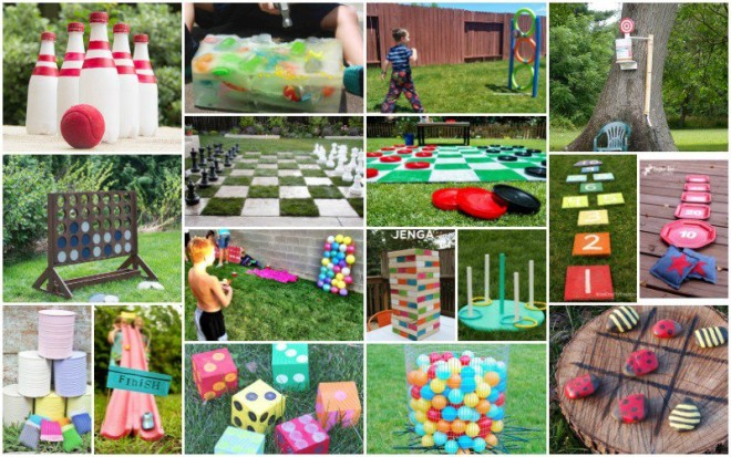 20 Fun DIY Outdoor Games For Kids How To Instructions