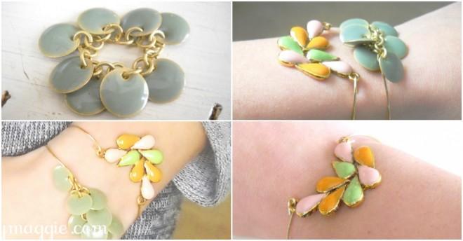 DIY Dainty Bracelets