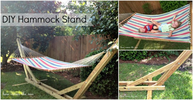 DIY Hammock Stand Tutorial