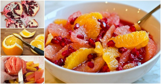Pomegranate Fruit Salads