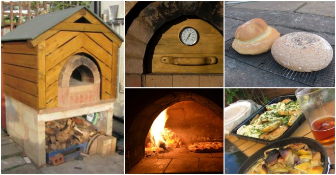 Wood Fired Clay Pizza Oven