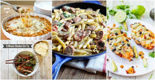 15 Minutes Dinner Recipes