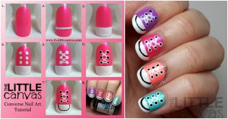 Converse Nail Art Tutorial