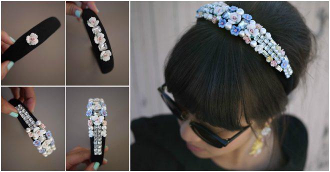 DIY Dolce & Gabbana Tiara Headband
