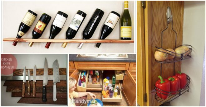 Genius kitchen storage ideas how to instructions for Genius ideas for home