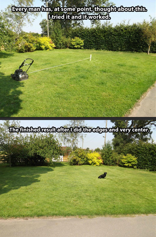 How To Autopilot A Self-propelled Mower 1