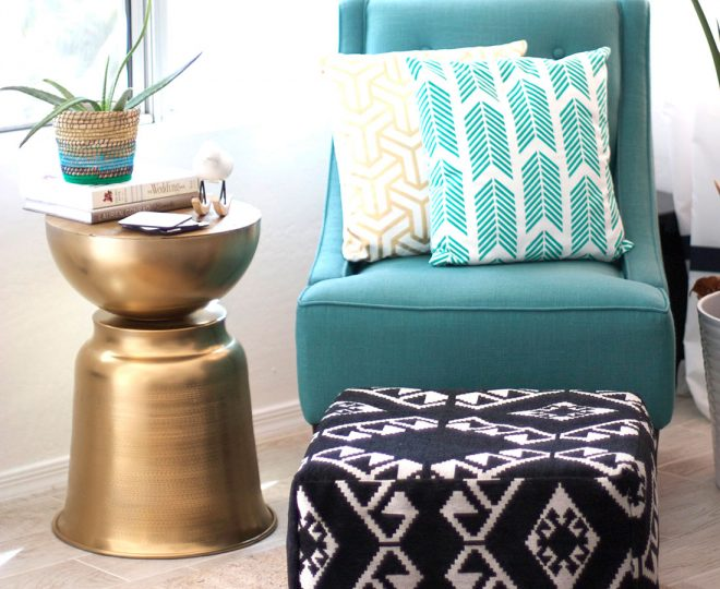 How To DIY A West Elm-Inspired Side Table 1