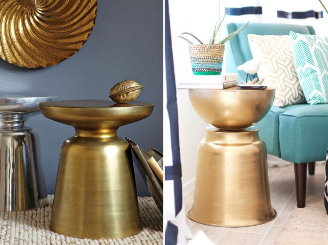 How To DIY A West Elm-Inspired Side Table