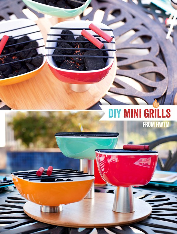 How To Make A Mini Charcoal Grill 1