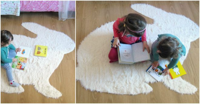 How To Make A No-Sew Rabbit Rug