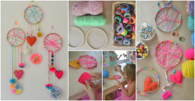 How To Make DIY Dream Catchers