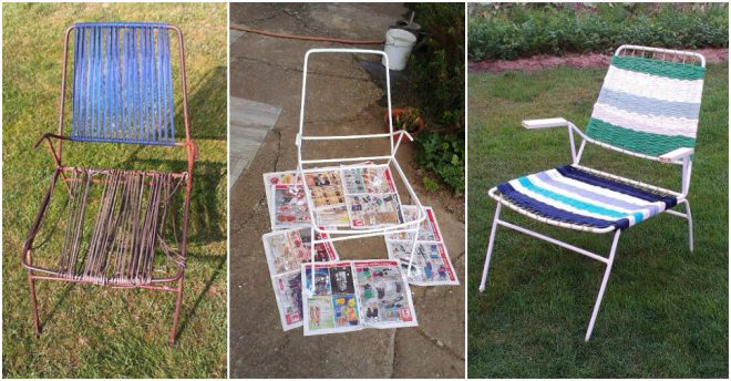 How To Revive An Old Garden Chair