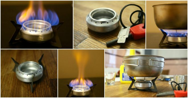 Alcohol Stove - Best Camping Stove