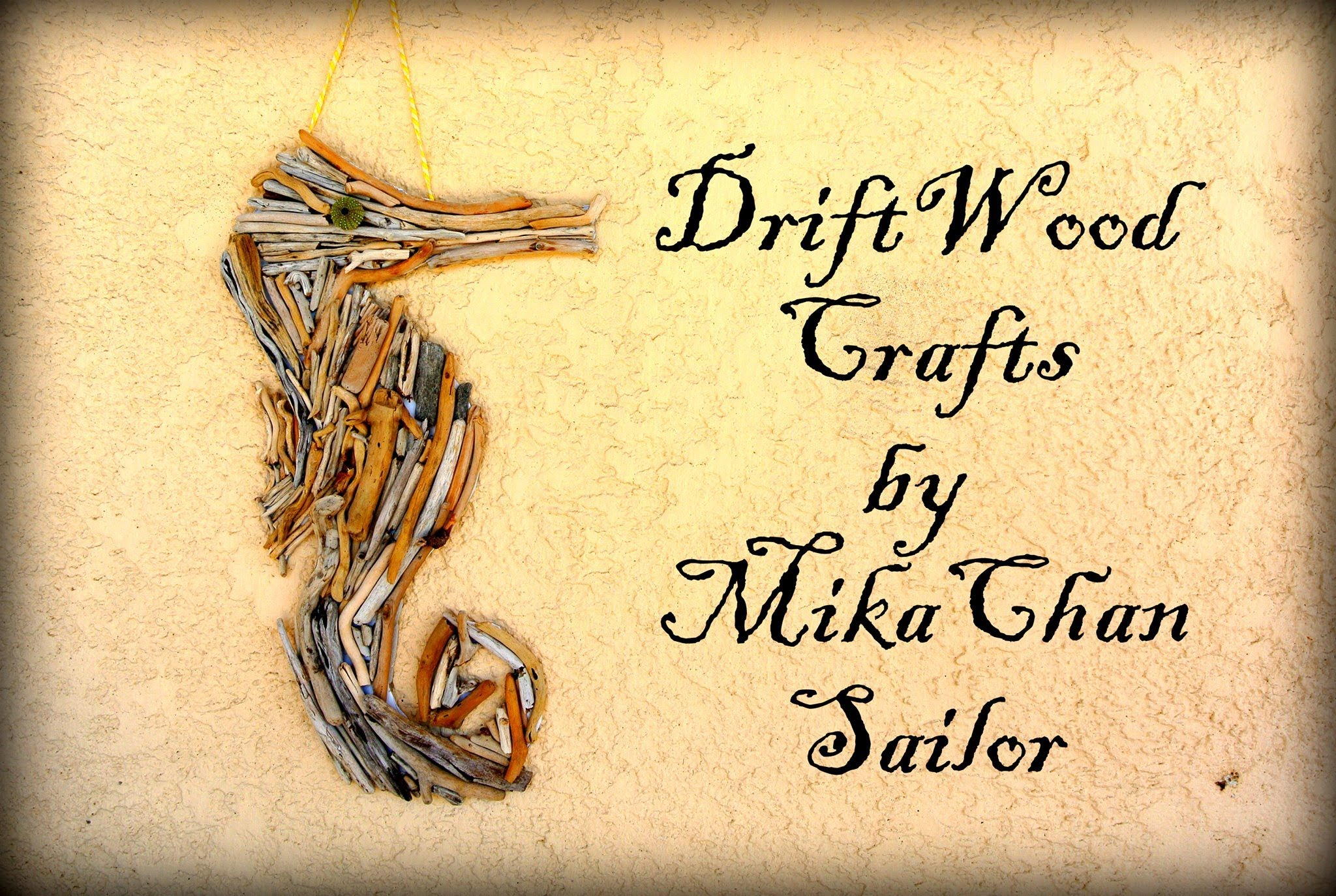 Drift Wood Seahorse Wall Decor How To Instructions