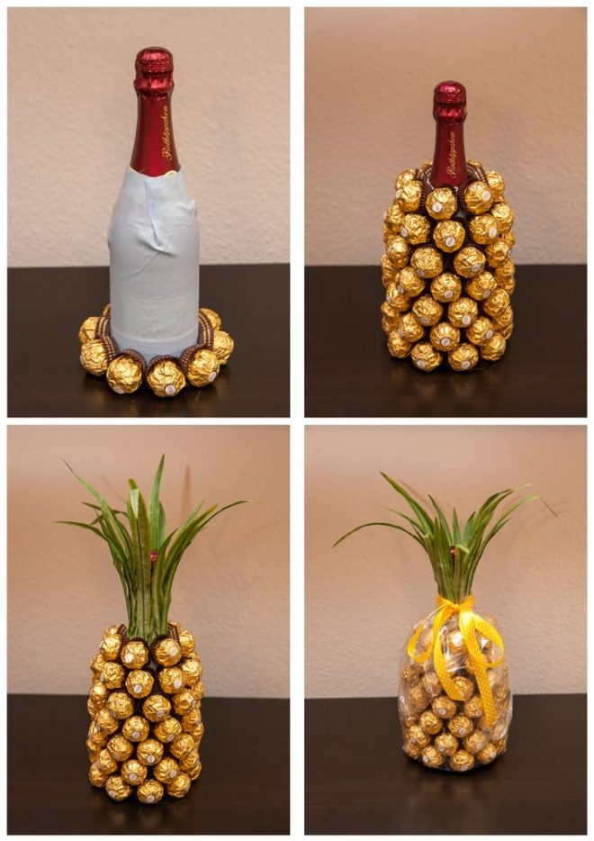 How To Make A Champagne Pineapple 1