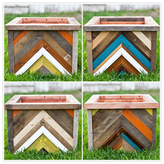 How To Make A Planter Box With Recycled Wood 1