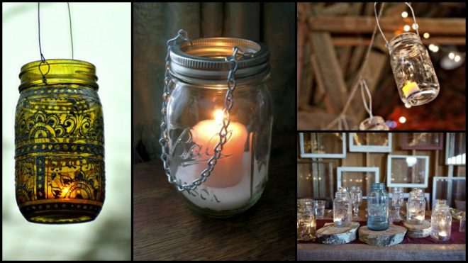 How To Make DIY Mason Jar Lanterns