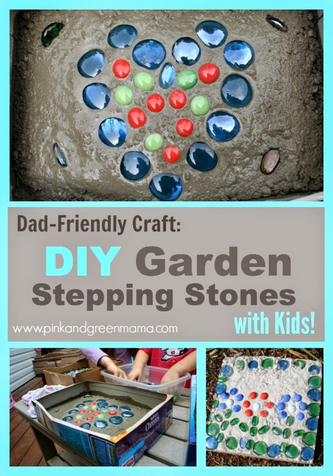 How To Make Garden Stepping Stones 1