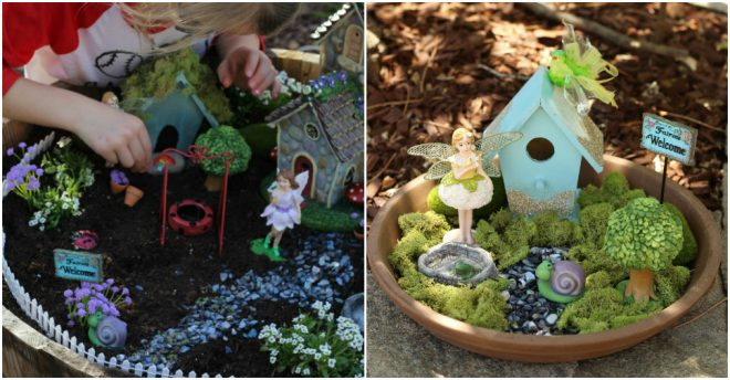 How To Make Your Own Fairy Garden 1