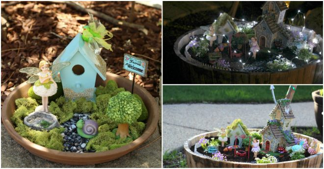 How To Make Your Own Fairy Garden How To Instructions