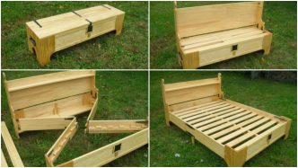 2-in-1 Bench Bed