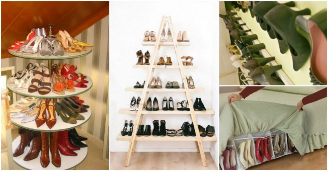 Creative Shoe Storage Ideas 1
