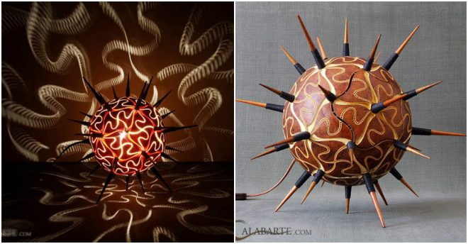 Exotic Gourd Lamps 3