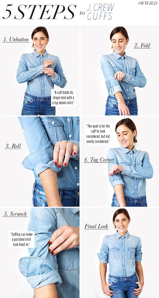 How To Cuff Your Sleeves The J.Crew Way 1