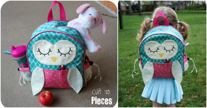 How To Make A DIY Toddler Backpack