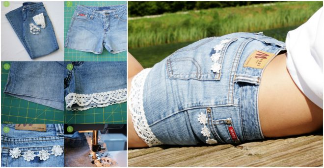 How To Make Cutoff Denim Shorts