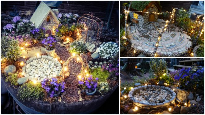 How To Make Magical Lighting Fairy Garden