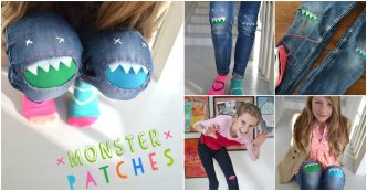 How To Sew Monster Knee Patches