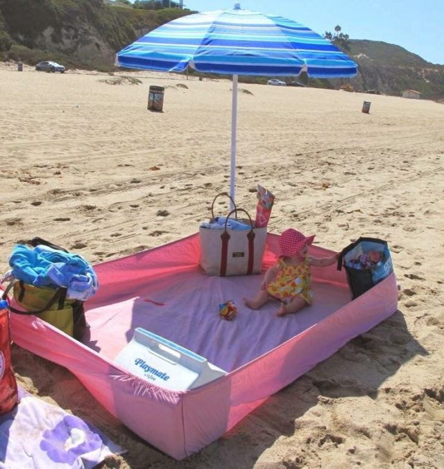 Baby Beach Playpen 1