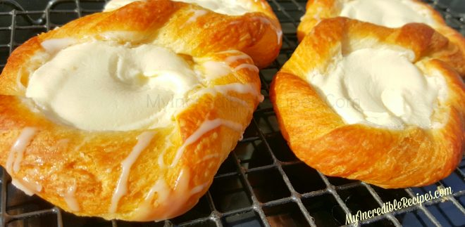 Crescent Cheese Danishes Recipe